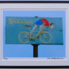 8x10 Schwinn Bike Shop framed
