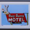 8x10 Bugs Bunny Motel Framed