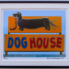 8x10 Dog House framed