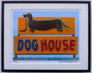 8x10 Dog House framed