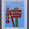 8x10 Holiday Motel Framed