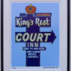 8x10 Kings Rest Court Framed