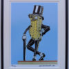 8x10 Mr Peanut Vintage Neon Framed