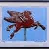 8x10 Mobil Oil Pegasus framed