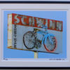 8x10 Schwinn Bicycle framed