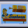 8x10 Sunbeam Bread framed