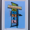 8x10 Thunderbird Motel Framed