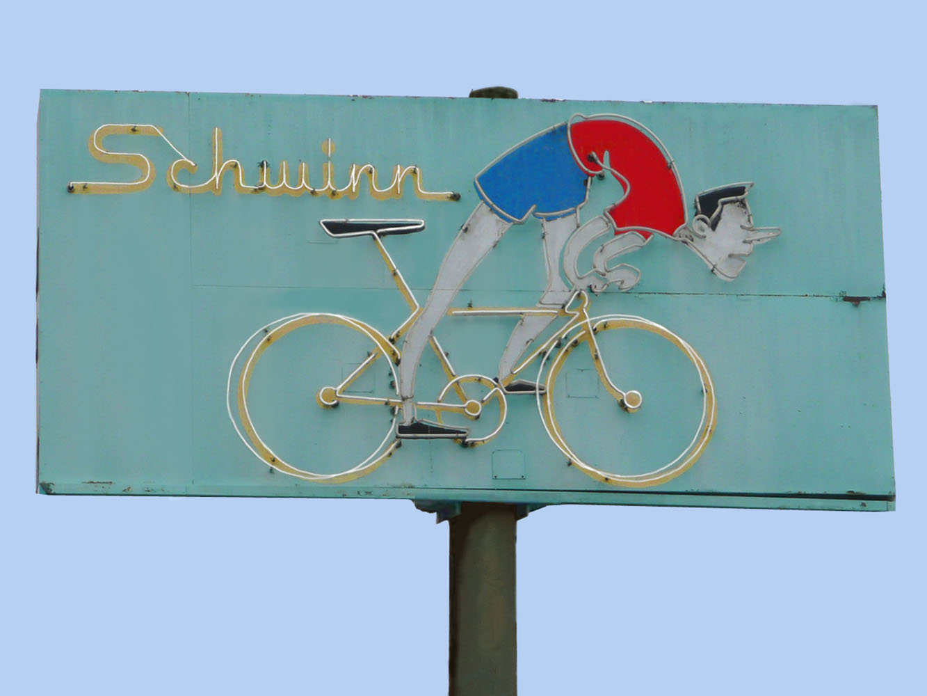 Schwinn Bike Shop Vintage Neon Sign