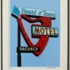 "16""x20"" Heart 'O Town Motel in Frame"