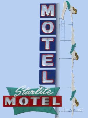 Starlite Motel Diving Lady