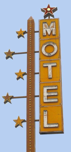 Motel With Stars
