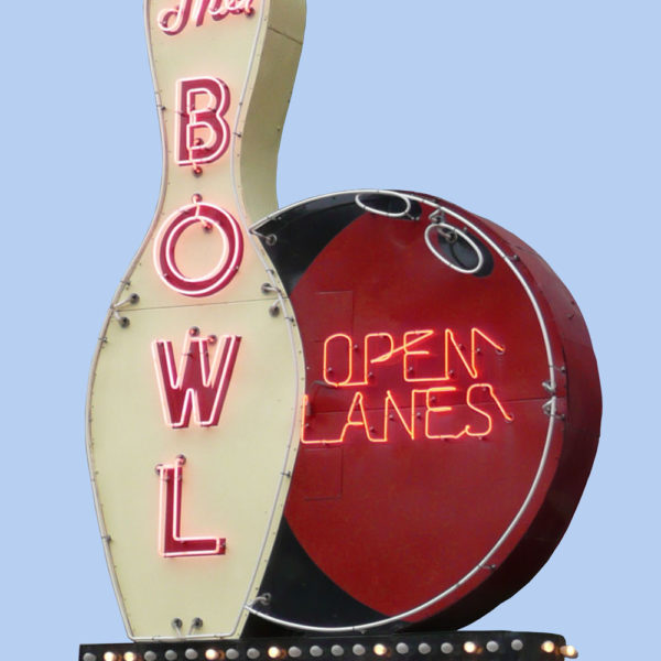 The Bowl Vintage Neon