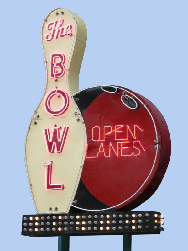The Bowl Vintage Neon