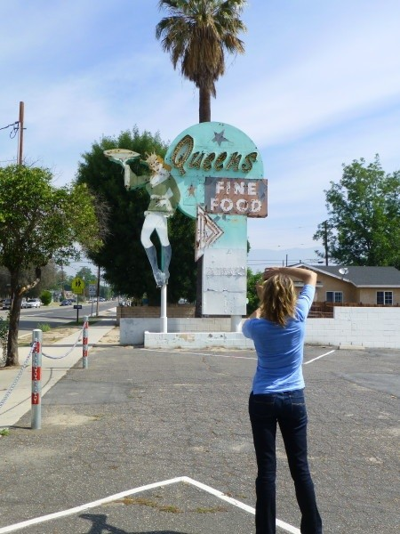 Photographing Vintage Neon Sign