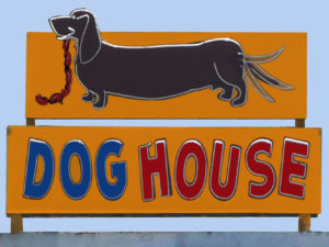 Dog House Vintage Neon