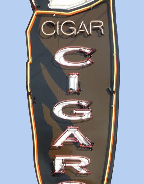 Cigar Neon Sign