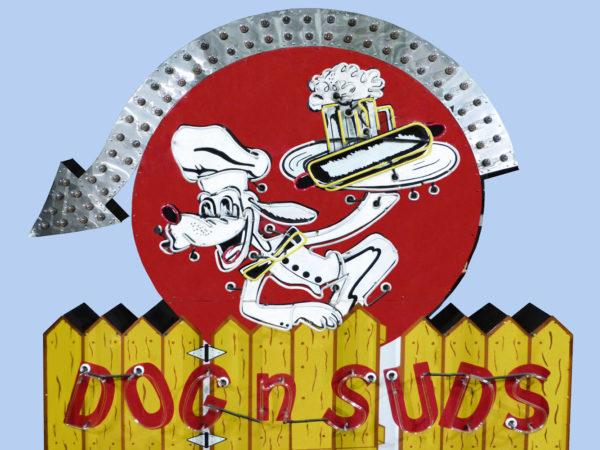 Dog n Suds Vintage Neon