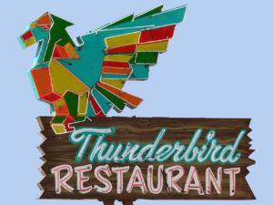 Thunderbird Restaurant Vintage Neon