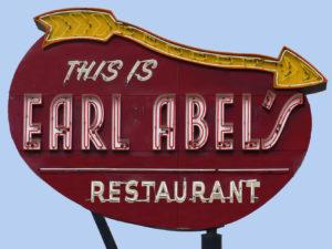 Earl Abel's Sign San Antonio