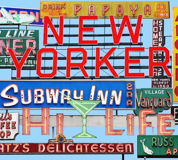 Fine art photography of vintage neon signs in New York City.